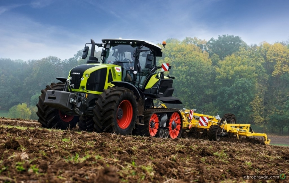 Полугусеничные тракторы Claas получили возможность оснащаться системой CEMOS